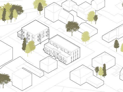 Wohnbebauung mit Gewerbenutzung Alteneschstraße